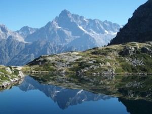 Olan et lac Pétarel